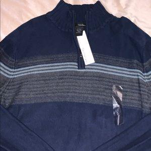 New XL Calvin Klein Navy sweater